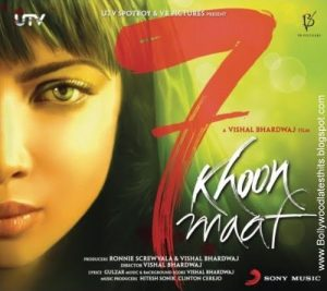 latest hindi bollywood movies 7 Khoon Maaf
