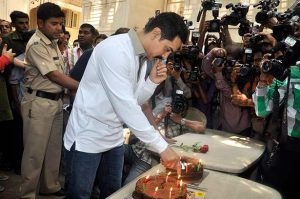Hindi Bollywood News Aamir celebrates his 46th birthday