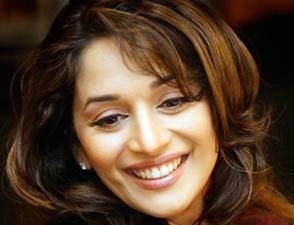 Madhuri with her million dollar smile
