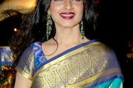 Rekha in small screen as a judge in Jhalak Dikhla Jaa